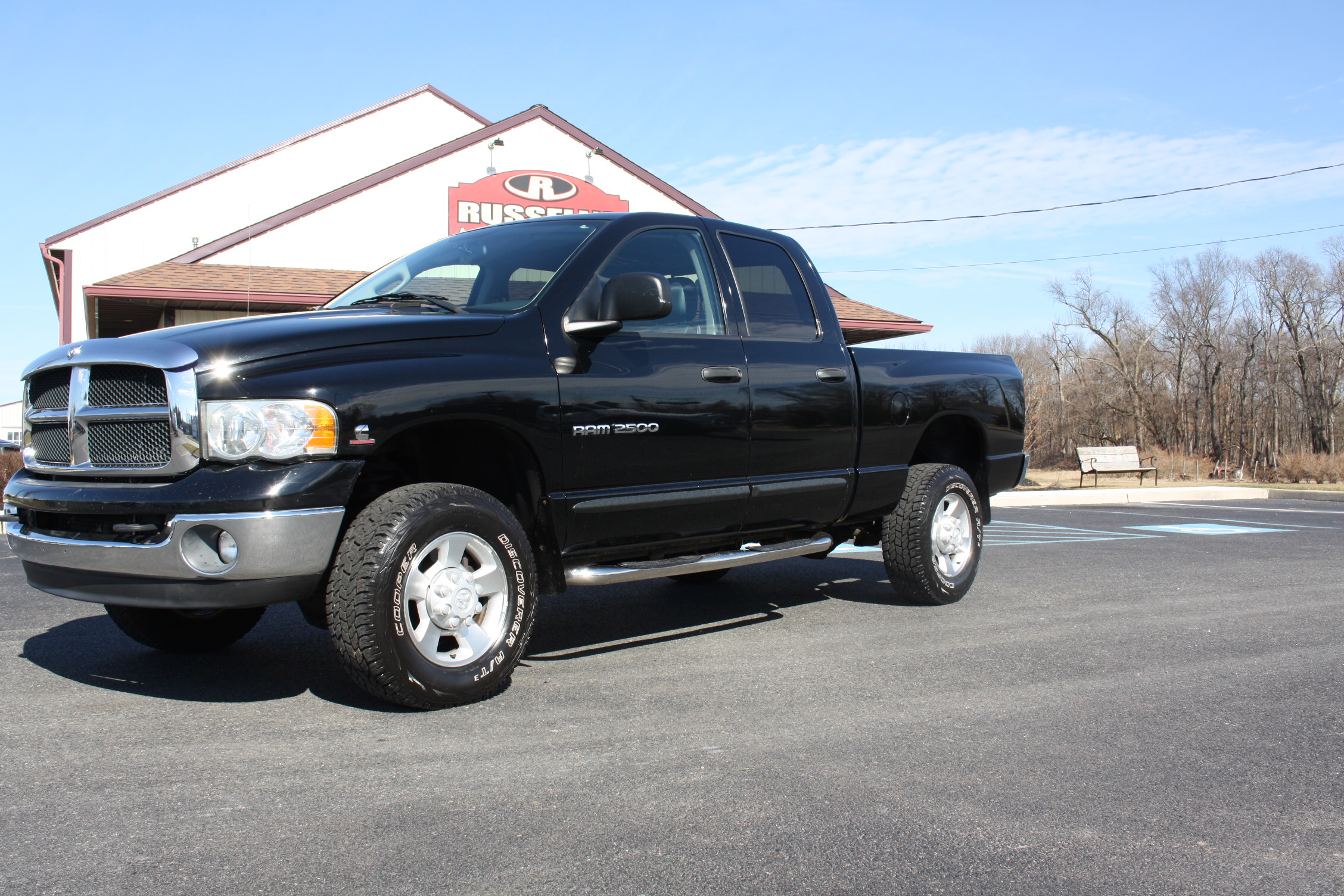 2003 dodge ram 2500 cummins stick shift russell 39 s truck sales. Black Bedroom Furniture Sets. Home Design Ideas