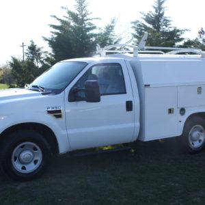 IMG 1202 300x300 - 2009 FORD F350 WITH KNAPHEIDE ENCLOSED UTILITY