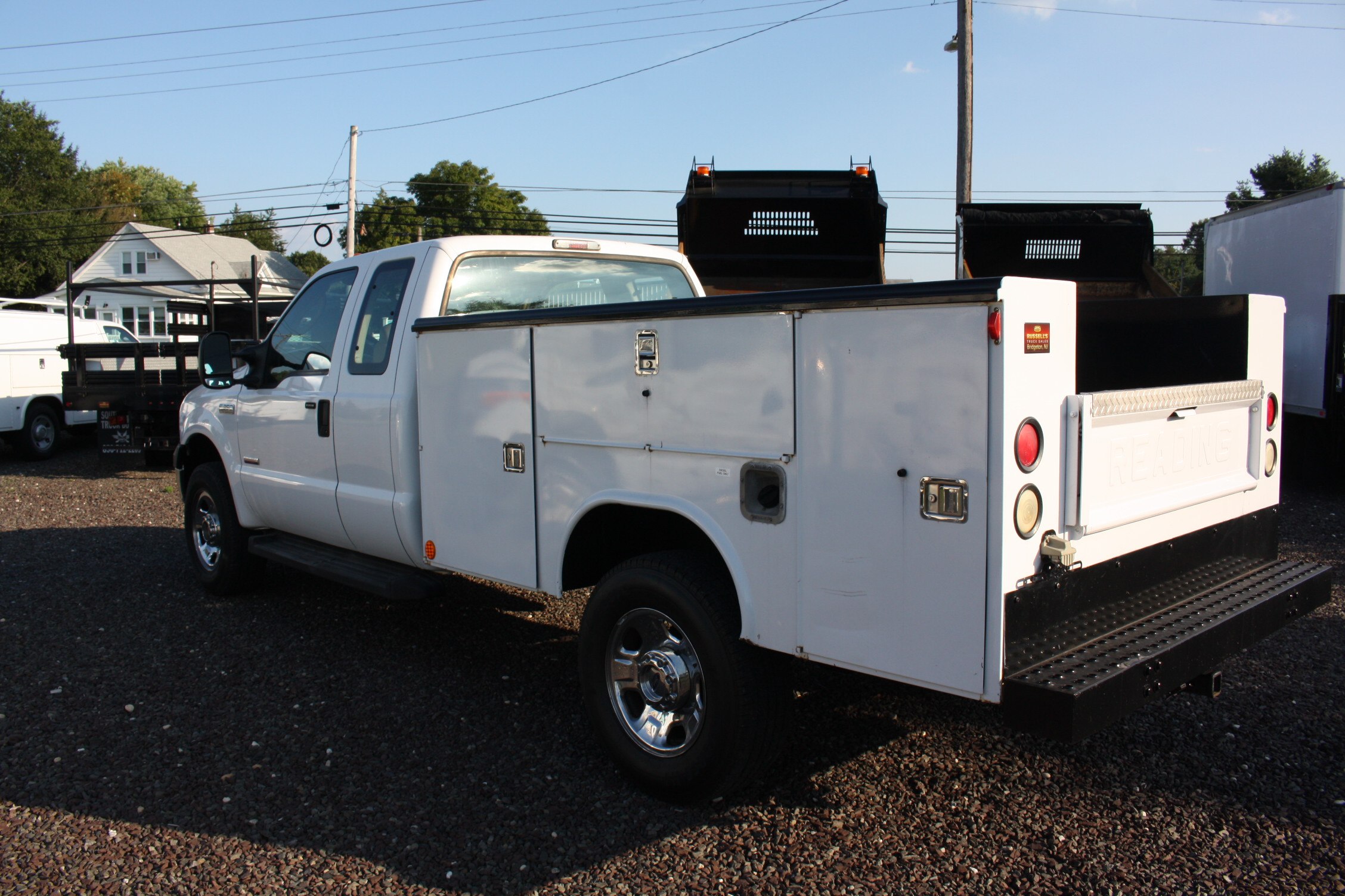 2006 Ford F350 4x4 Utility Russells Truck Sales 1954 Chevy For Sale