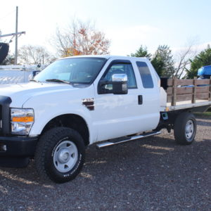 IMG 2382 1 300x300 - 2008 FORD F350 FLATBED TRUCK