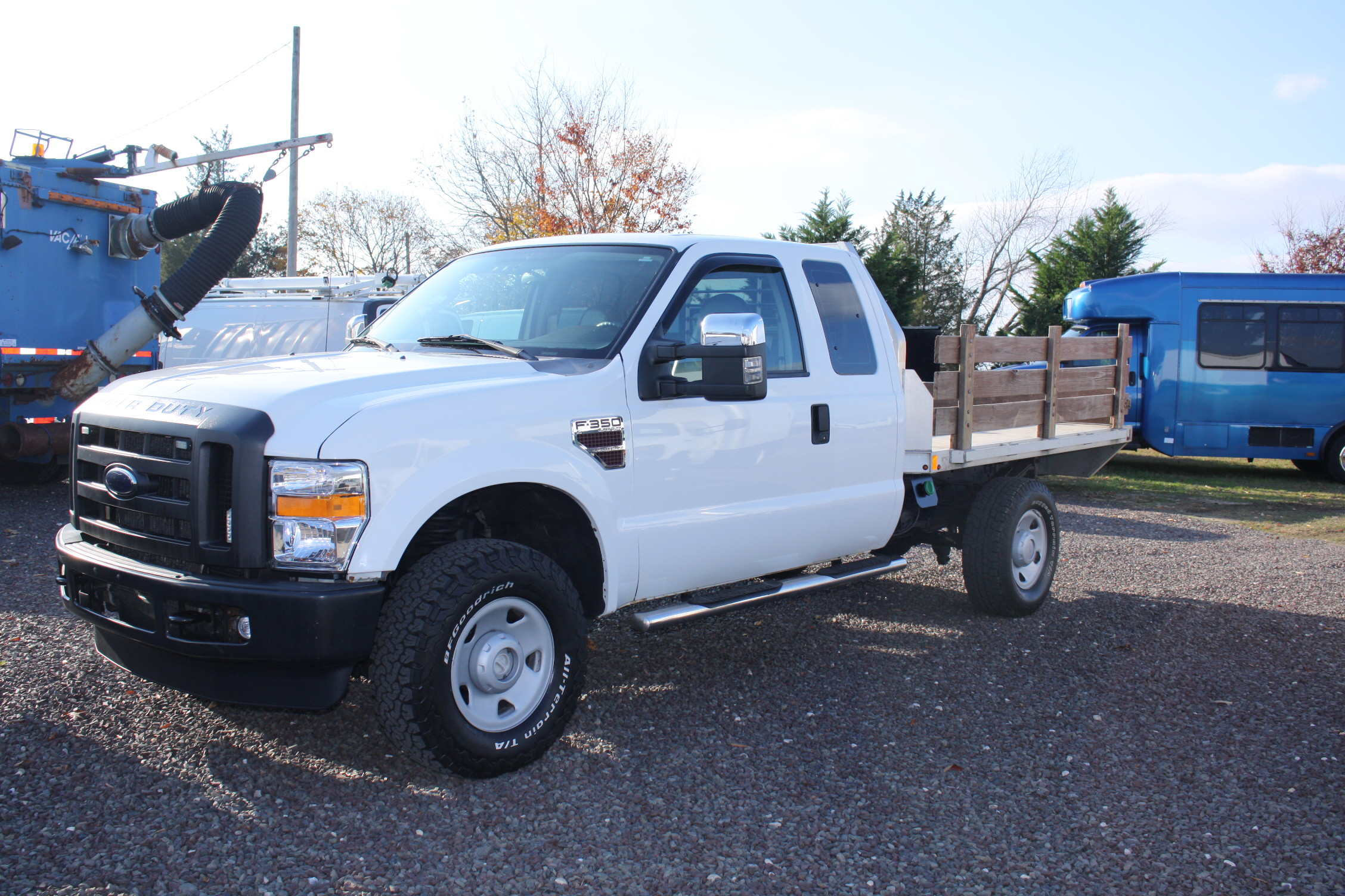 2008 ford f350 flatbed truck