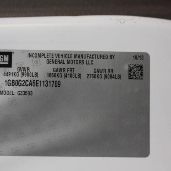 IMG 2530 600x600 - 2014 CHEVROLET G3500 BOX TRUCK