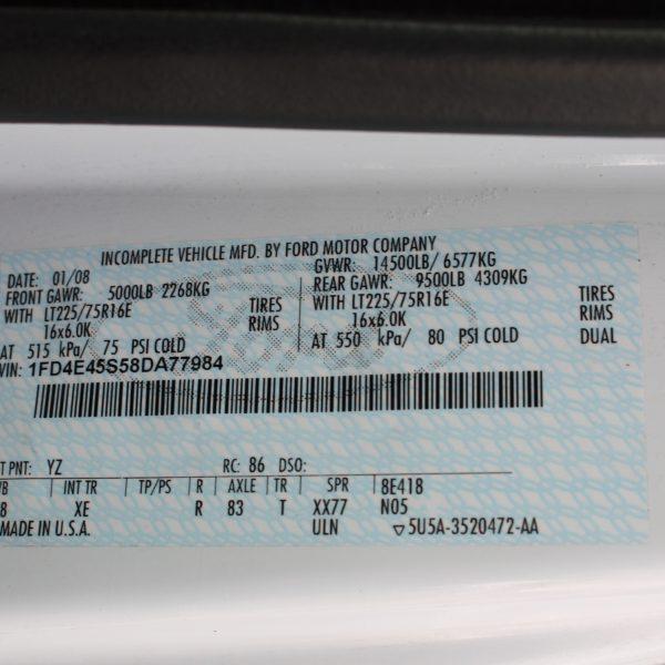 IMG 2968 600x600 - 2008 FORD E450 15 PASSENGER BUS