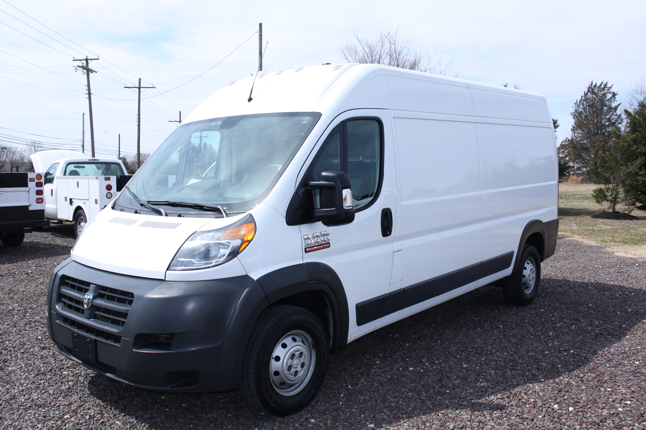 IMG 3051 - 2015 RAM PROMASTER 3500 HIGH ROOF VAN WITH ECODIESEL