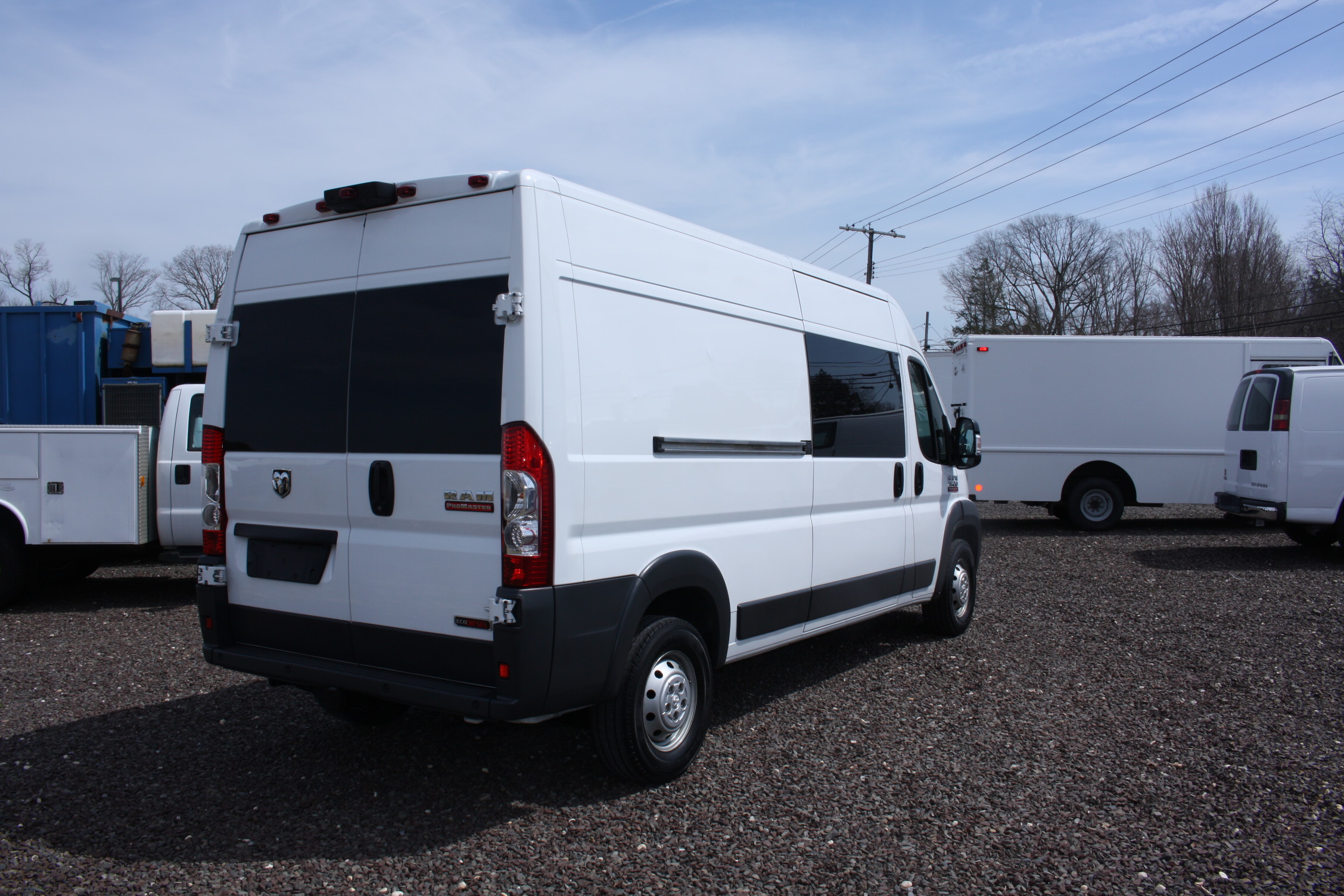 IMG 3054 - 2015 RAM PROMASTER 3500 HIGH ROOF VAN WITH ECODIESEL