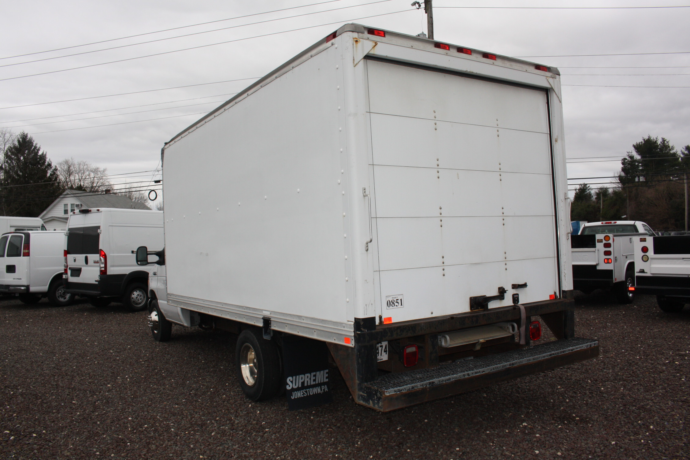 IMG 3082 - 2006 FORD E350 16FT BOX TRUCK