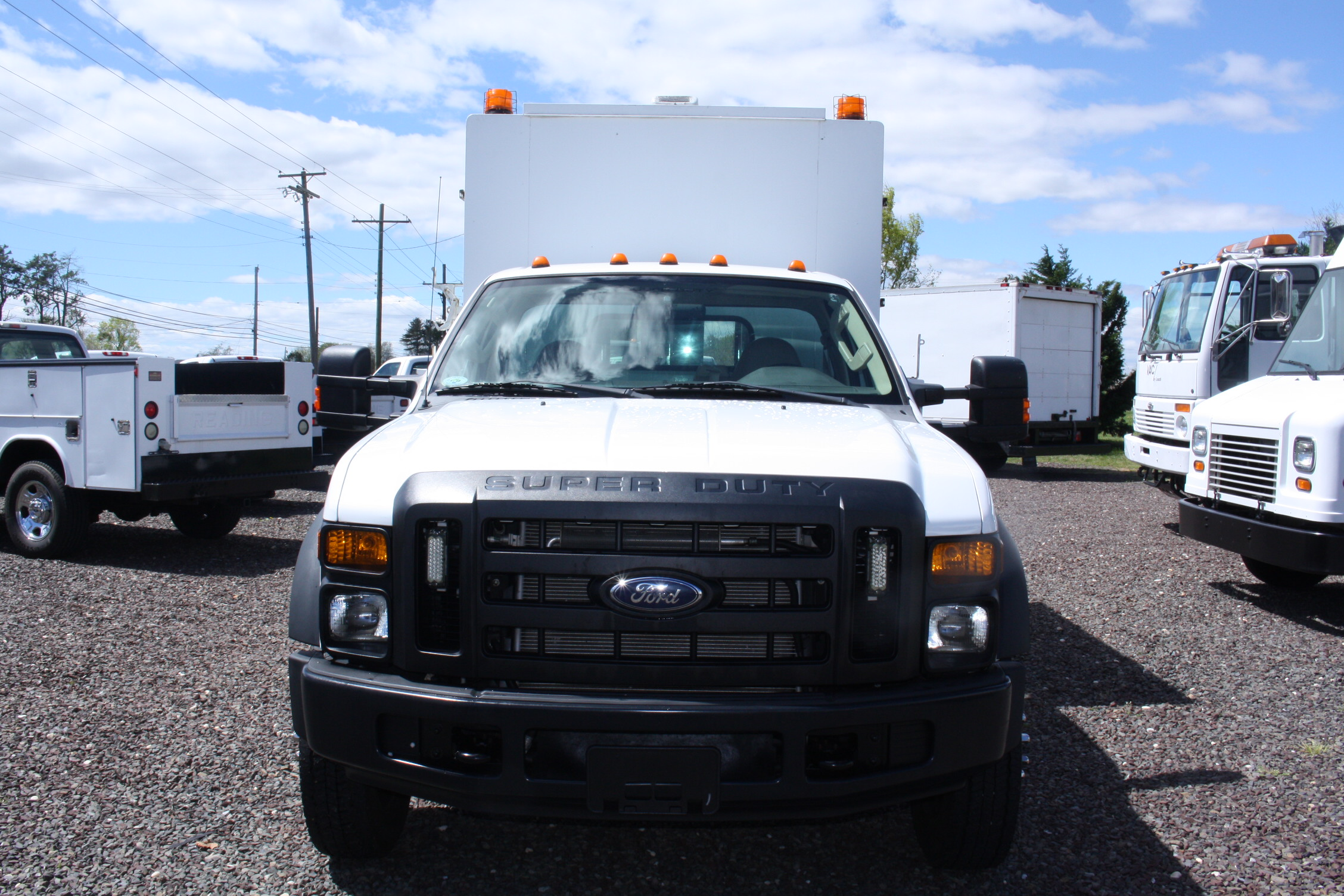 IMG 3515 - 2008 FORD F450 ENCLOSED WALK IN UTILITY