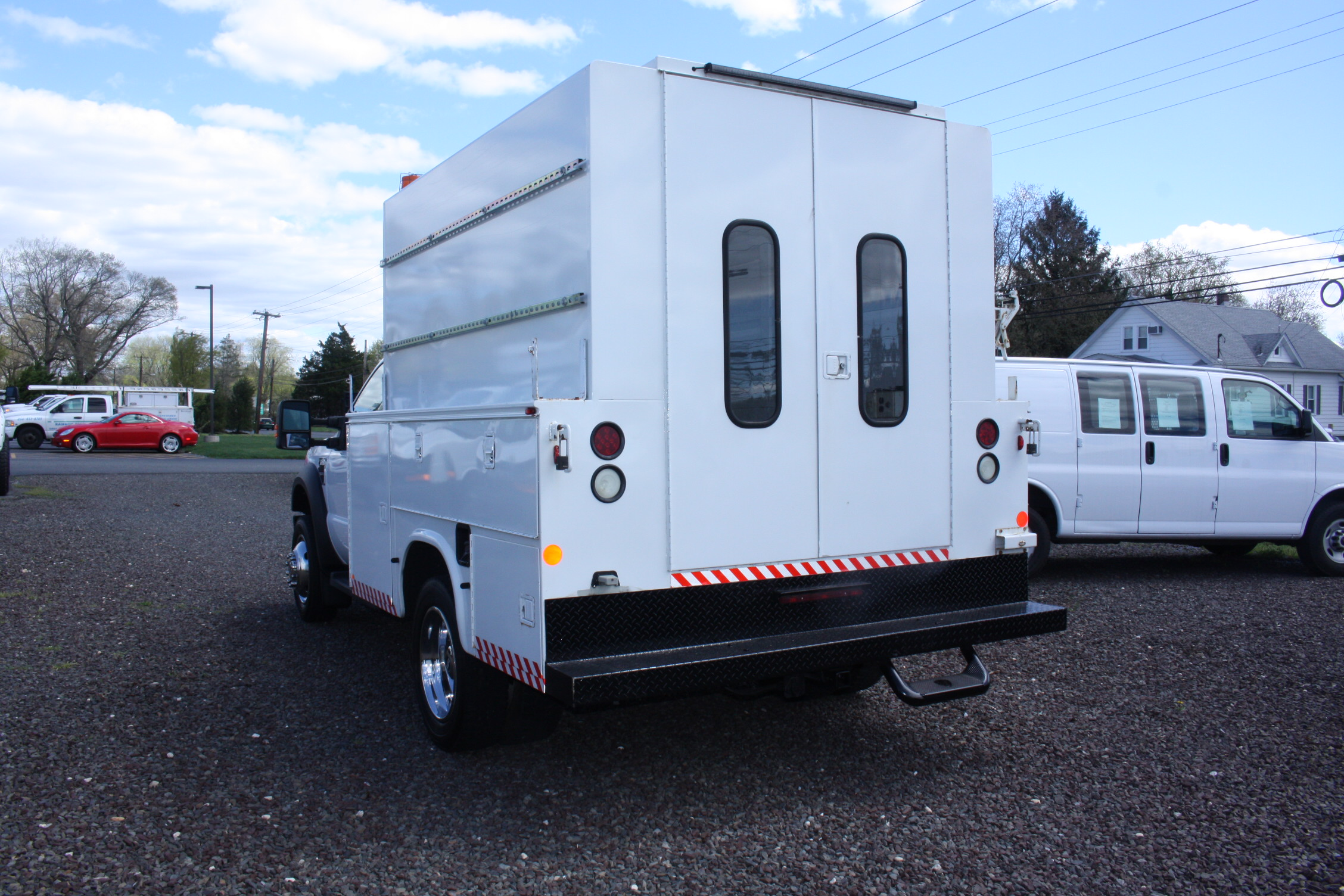 IMG 3519 - 2008 FORD F450 ENCLOSED WALK IN UTILITY
