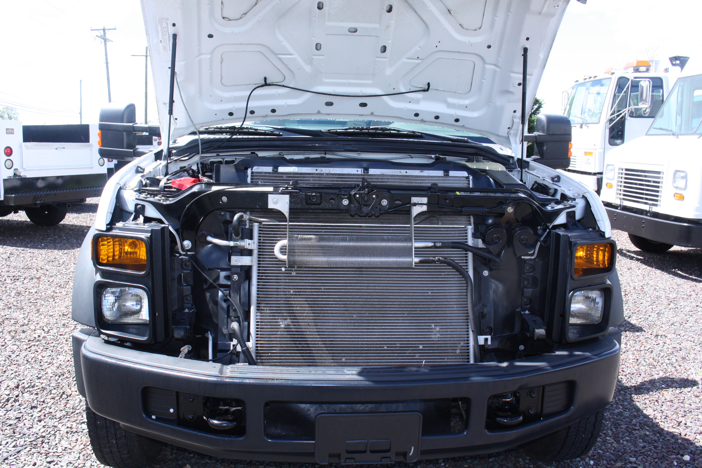 IMG 3537 - 2008 FORD F450 ENCLOSED WALK IN UTILITY