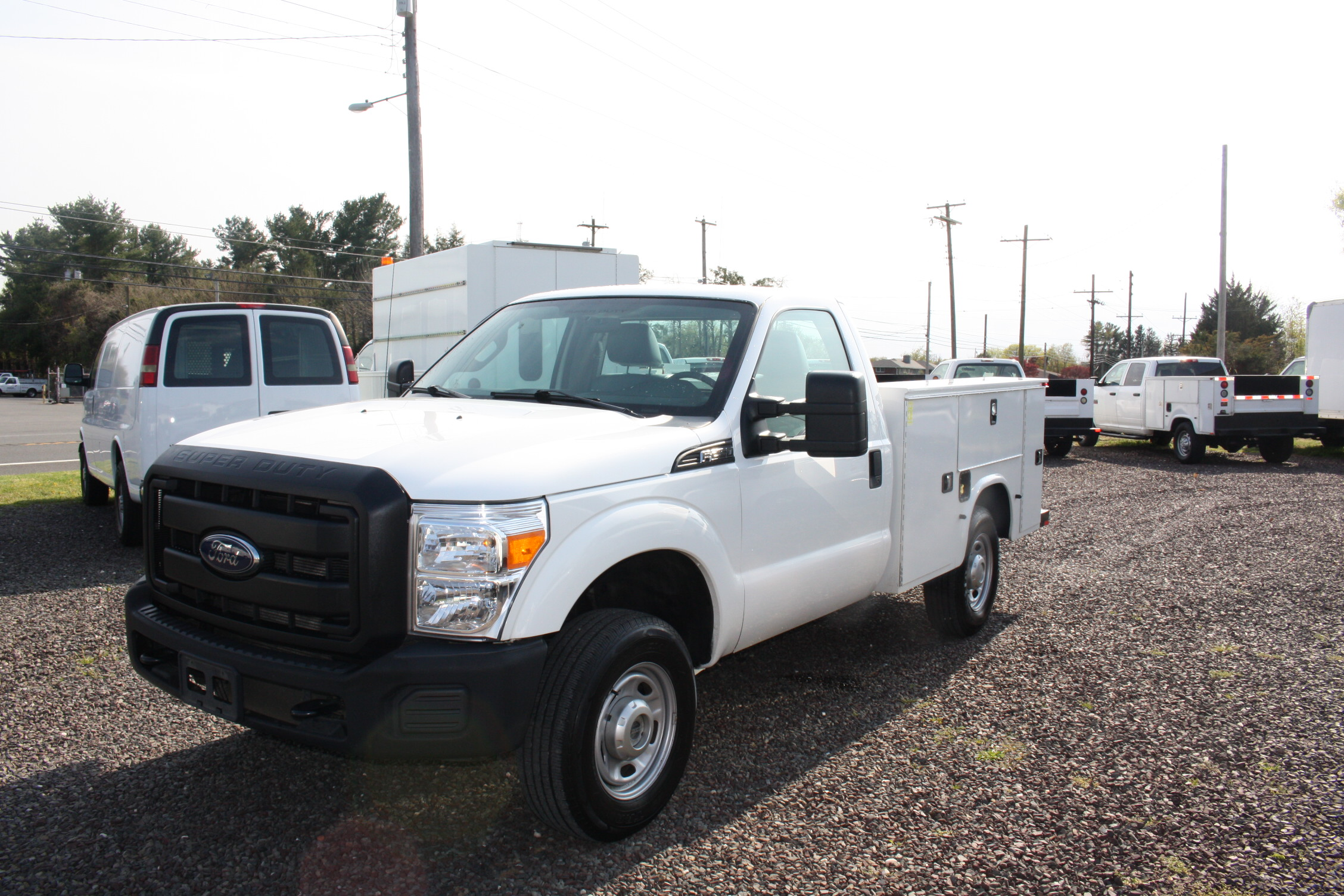 IMG 3578 1 - 2015 FORD F250 OPEN UTILITY TRUCK