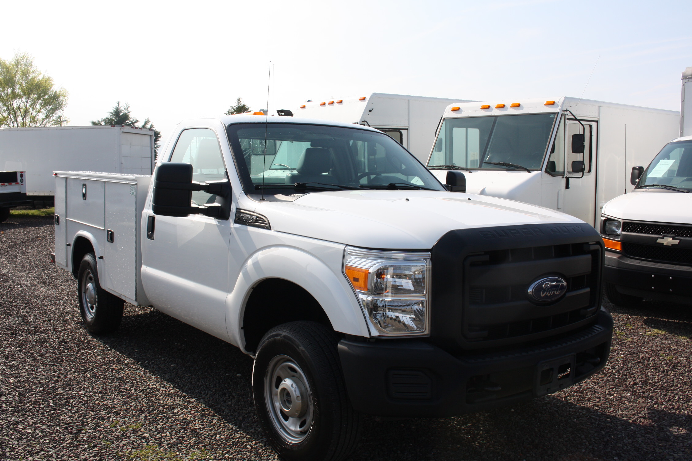 IMG 3580 - 2015 FORD F250 OPEN UTILITY TRUCK