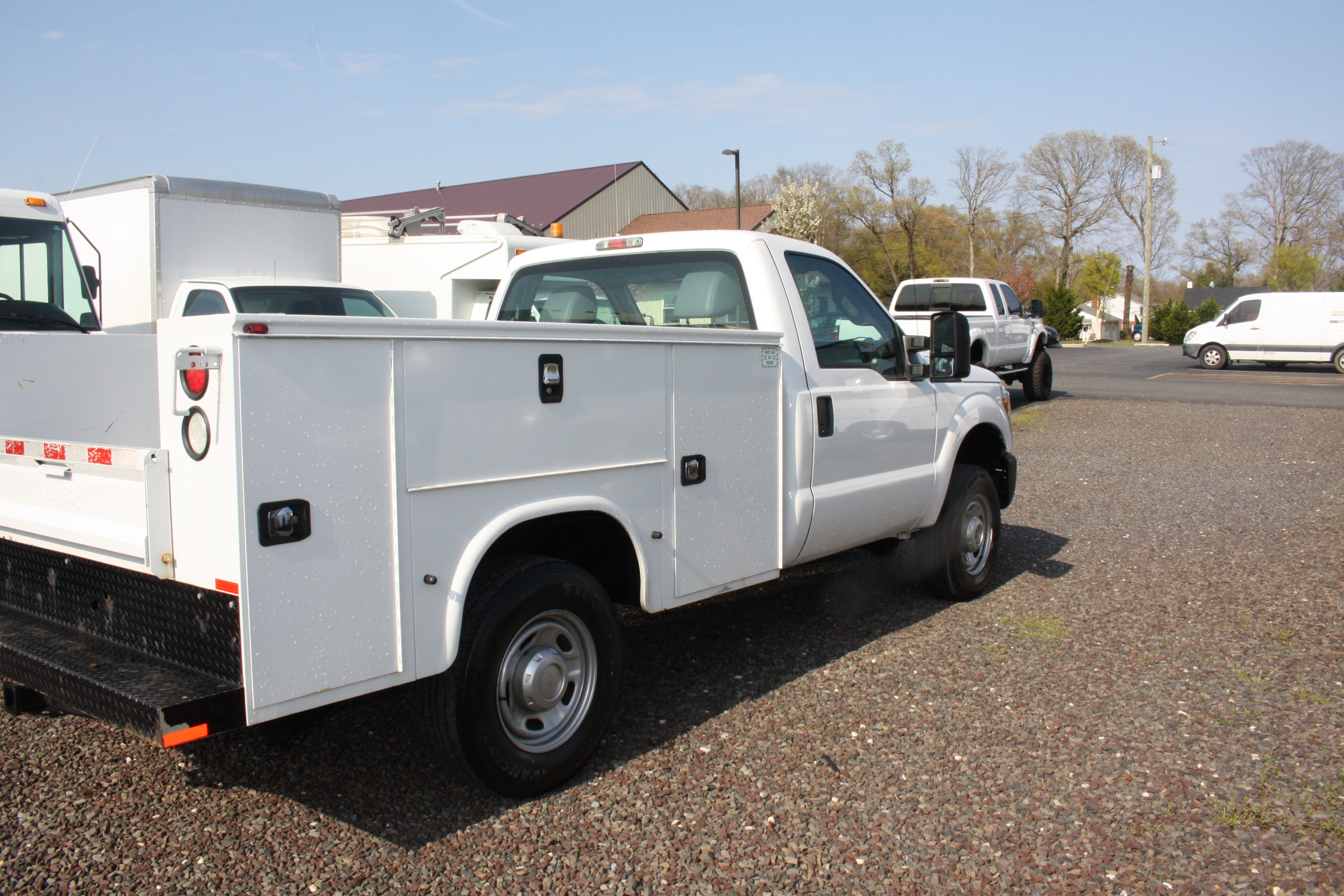 IMG 3581 - 2015 FORD F250 OPEN UTILITY TRUCK
