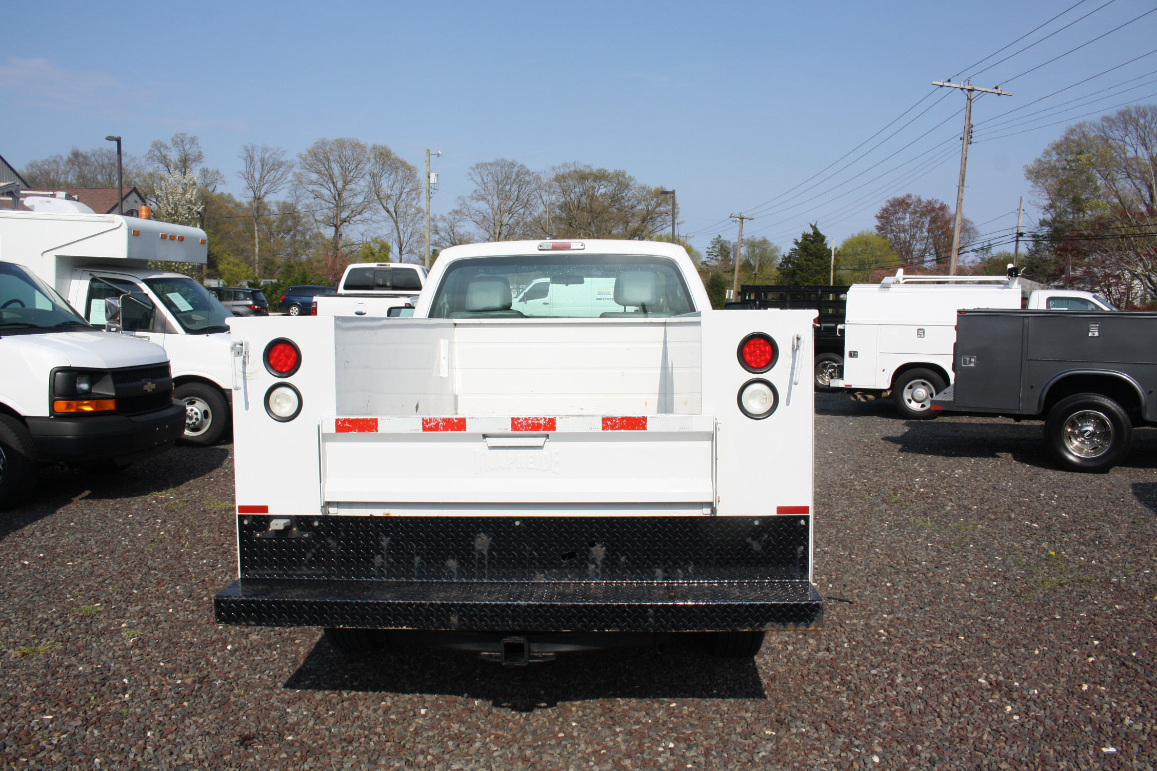 IMG 3582 - 2015 FORD F250 OPEN UTILITY TRUCK