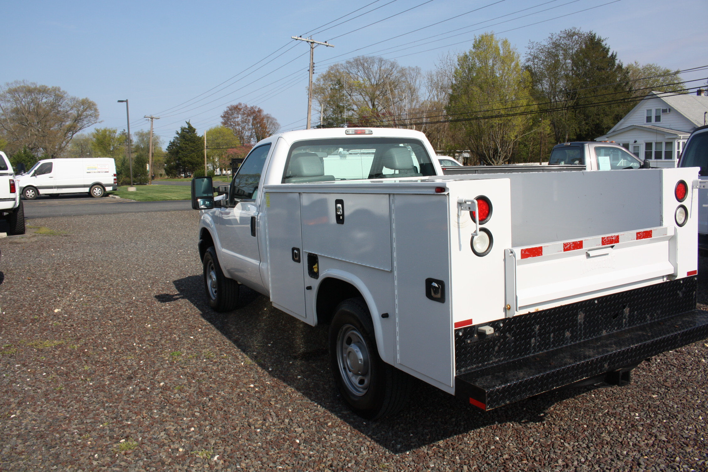IMG 3583 - 2015 FORD F250 OPEN UTILITY TRUCK