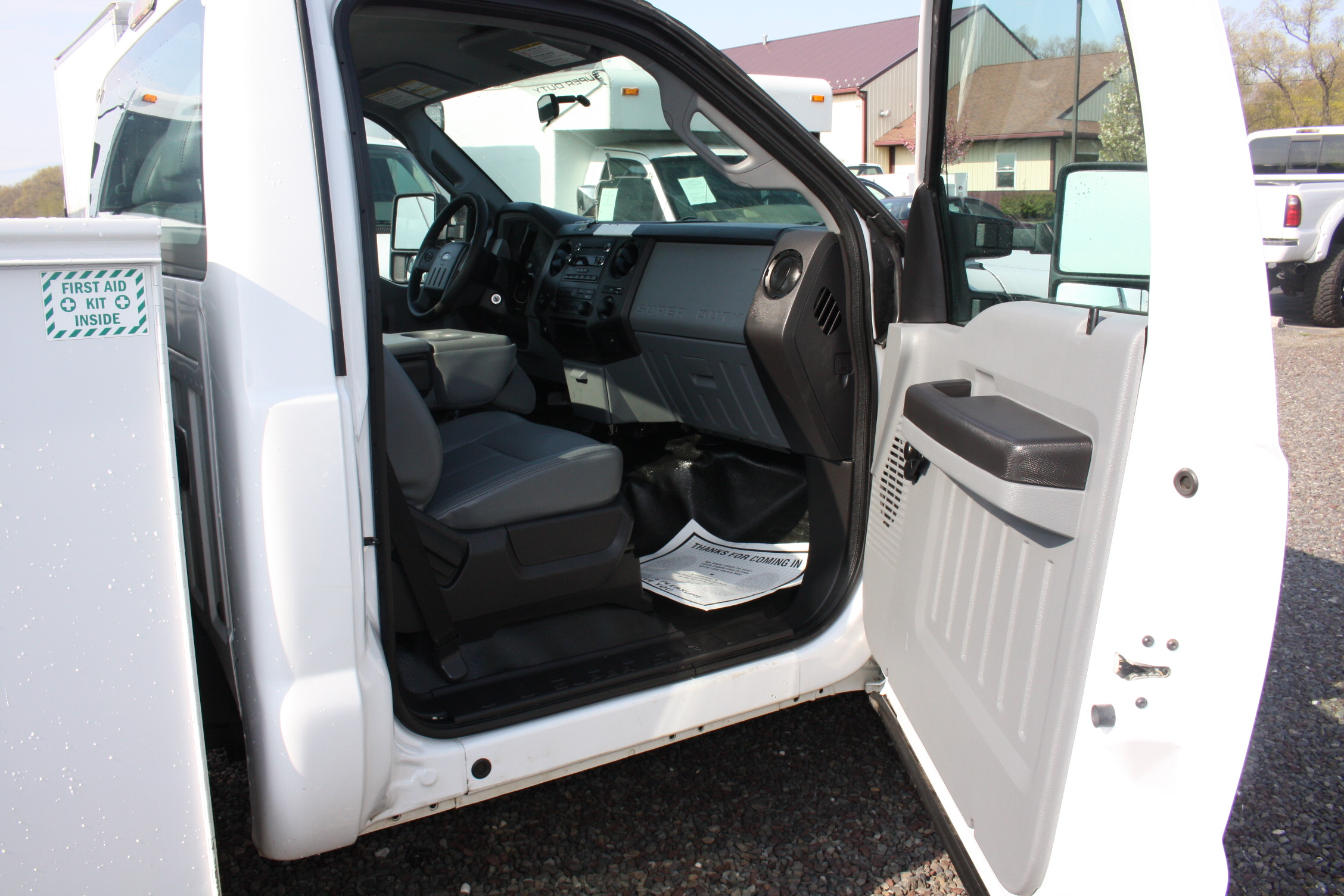 IMG 3596 - 2015 FORD F250 OPEN UTILITY TRUCK
