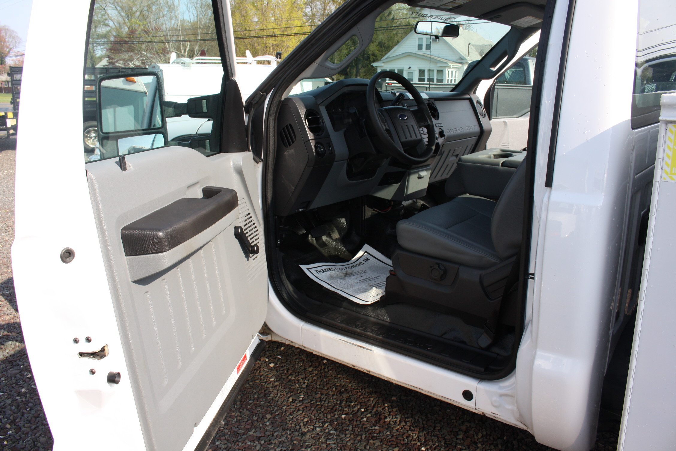 IMG 3598 - 2015 FORD F250 OPEN UTILITY TRUCK