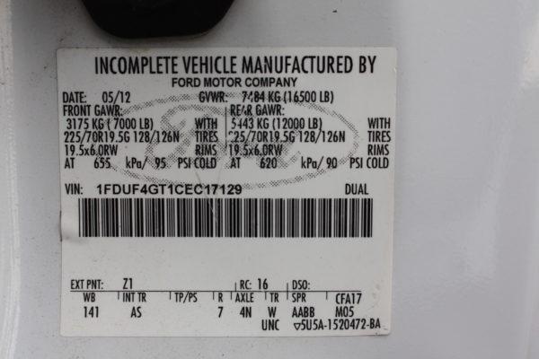 0147 11 600x400 - 2012 FORD F450 WALK IN UTILITY