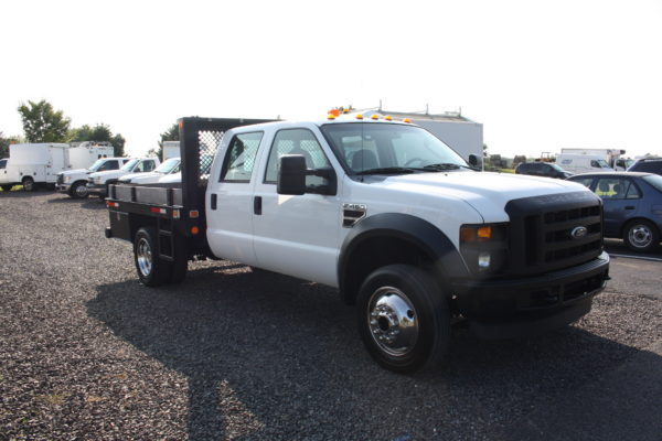 IMG 4301 600x400 - 2008 FORD F450 CREW CAB 4X4 FLAT BED