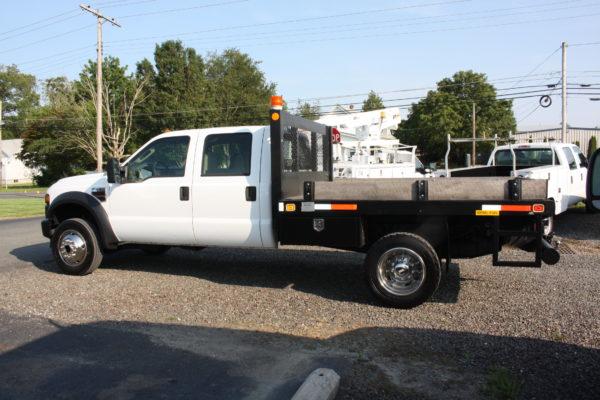 IMG 4307 600x400 - 2008 FORD F450 CREW CAB 4X4 FLAT BED