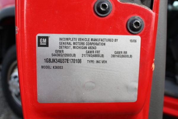 IMG 4425 600x400 - 2007 CHEVROLET K3500 DUMP TRUCK
