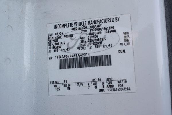 IMG 4621 600x400 - 2006 FORD F550 4X4 DUMP TRUCK