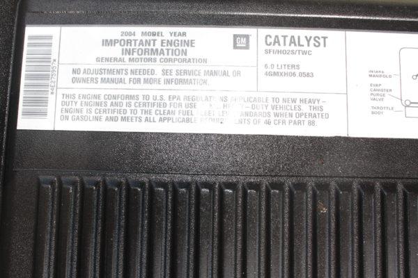 0171 16 600x400 - 2004 CHEVROLET SILVERADO K3500 4x4