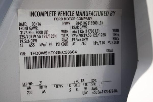 0172 20 600x400 - 2016 Ford F550 Crew Cab 4x4 Rugby Dump