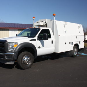 IMG 5369 1 300x300 - 2012 FORD F450 WITH ENCLOSED 11FT KNAPHEIDE UTILITY