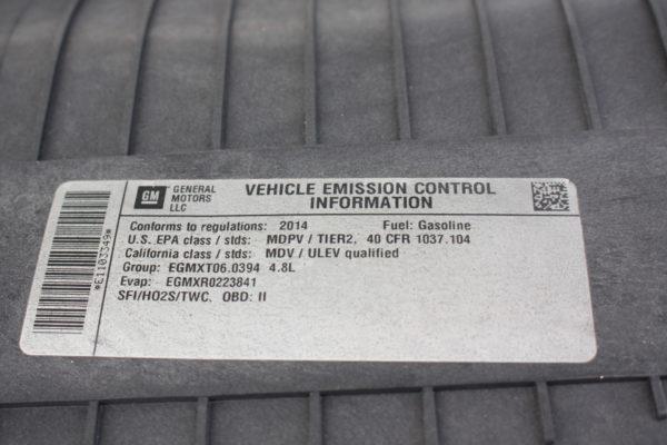 0194 24 600x400 - 2014 CHEVROLET G2500 EXPRESS CARGO