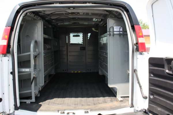 0223 11 1 scaled 600x400 - 2015 CHEVROLET G3500 EXPRESS CARGO