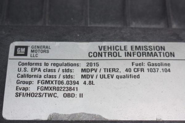 0223 29 1 scaled 600x400 - 2015 CHEVROLET G3500 EXPRESS CARGO