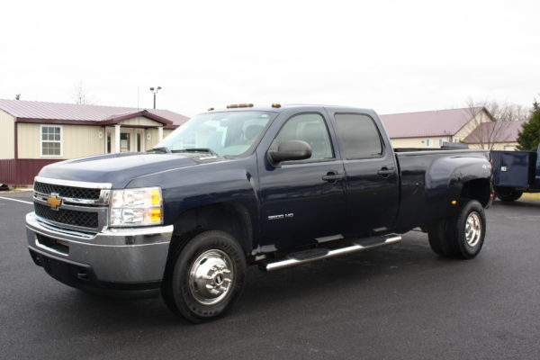 0241 1 600x400 - 2011 CHEVROLET SILVERADO 3500HD 4X4 DUALLY