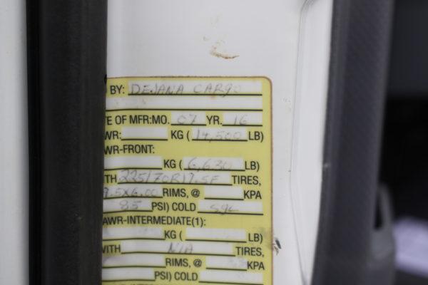 0240 18 600x400 - 2016 ISUZU NPR CREW CAB ENCLOSED UTILITY TRUCK