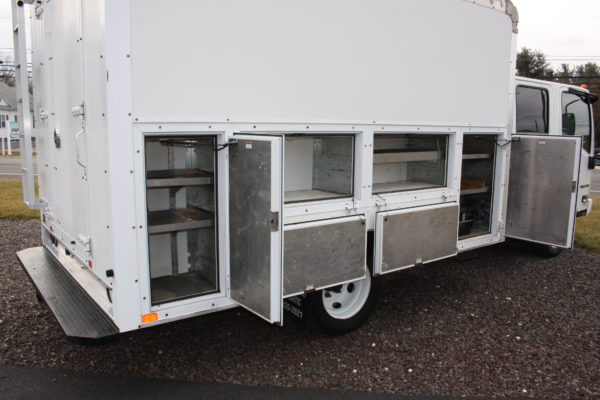 0240 28 600x400 - 2016 ISUZU NPR CREW CAB ENCLOSED UTILITY TRUCK
