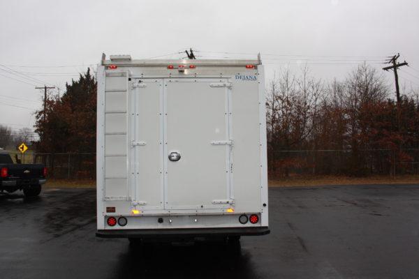0240 7 600x400 - 2016 ISUZU NPR CREW CAB ENCLOSED UTILITY TRUCK