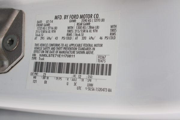 0259 28 600x400 - 2014 FORD TRANSIT CONNECT LWB CARGO